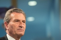 Günther Oettinger, Member of the EC in charge of Budget and Human Resources (© European Union , 2018 / Photo: Mauro Bottaro)